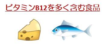ビタミンB12食品