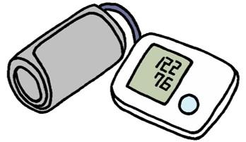 上腕タイプ血圧計