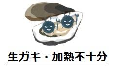 生ガキノロウイルス