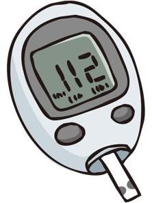 血糖自己測定器イラスト