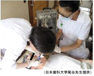 訪問歯科診療写真